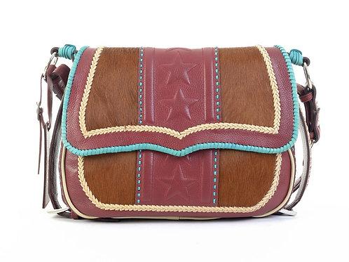 Cowhide Satchel Bag