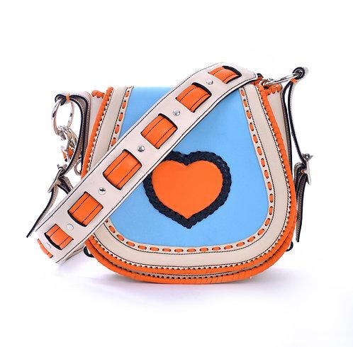 Ivory Orange Heart