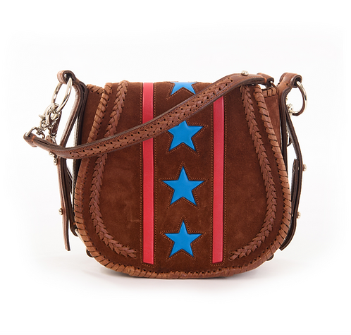 Calfskin Leather Crossbody Bag