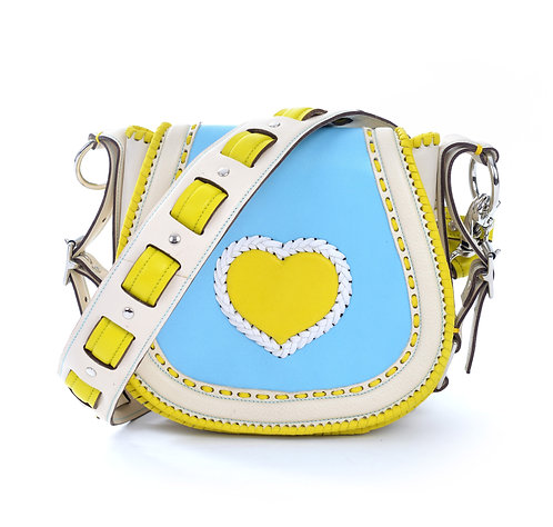 Ivory Yellow Heart