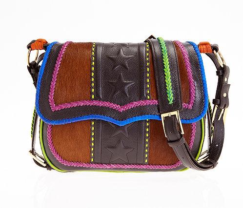 Blue Satchel Bag