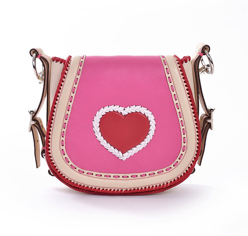Ivory Red Heart