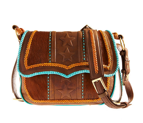 Turquoise Satchel Bag