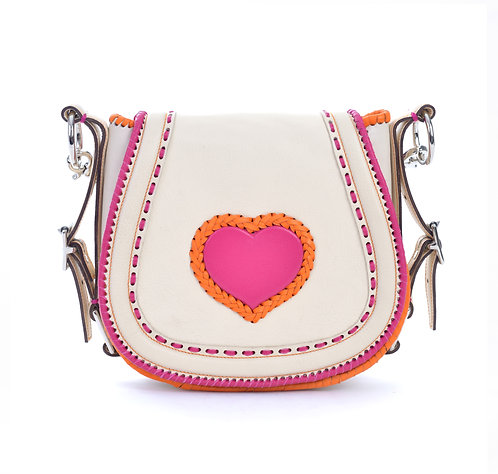 Ivory Crossbody Bag