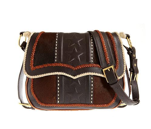 Coco Leather Satchel Bag