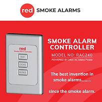 Red smoke controller red image sac-rac24