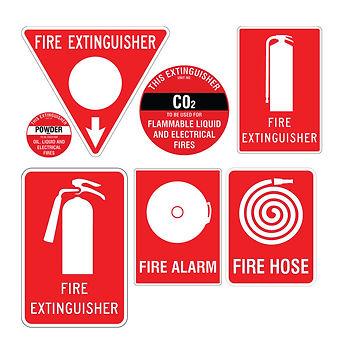 Fire Signage Sunshine Coast