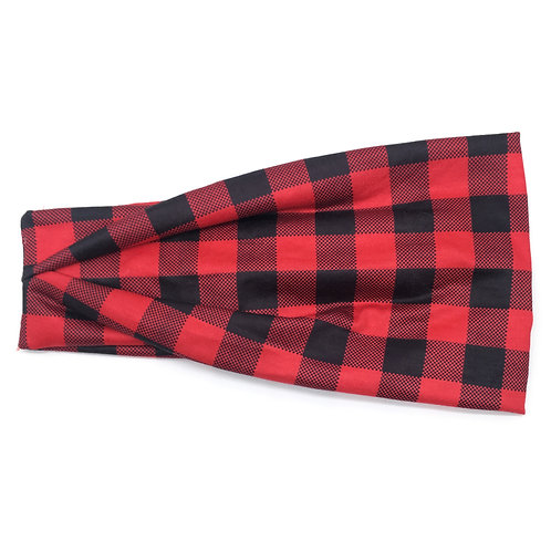 Red Buffalo Plaid Tri-fold