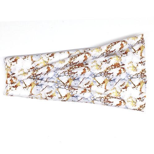 Metallic Marble Tri-fold