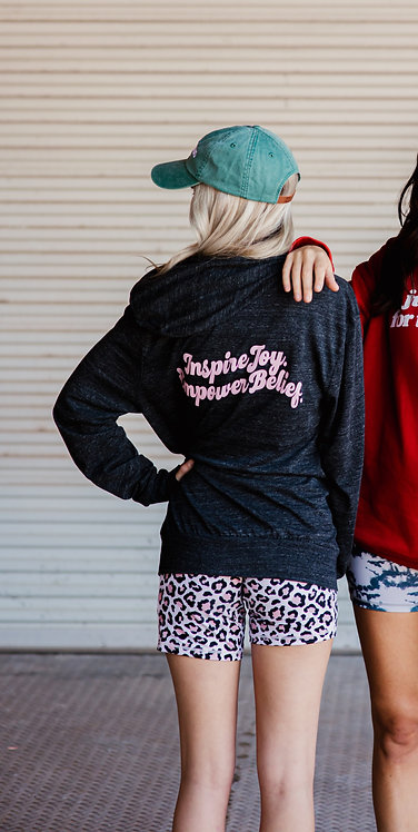 Inspire and Empower Zip Hoodie