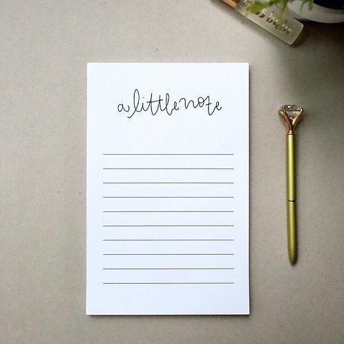 A Little Note