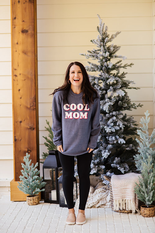 Cool Mom Winter Sweatshirt