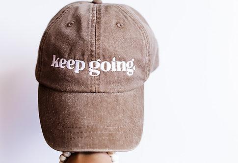 Keep Going Ballcap