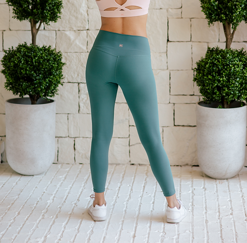 'True Mint' BE. Yogi Leggings