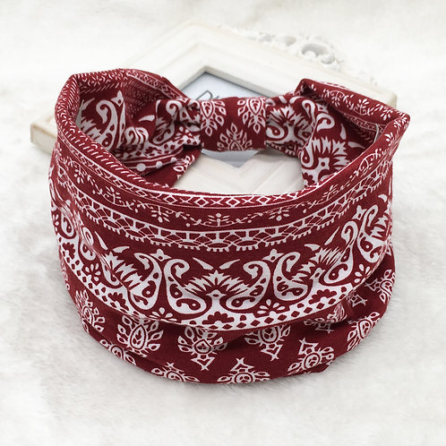 Deep Red Bandana