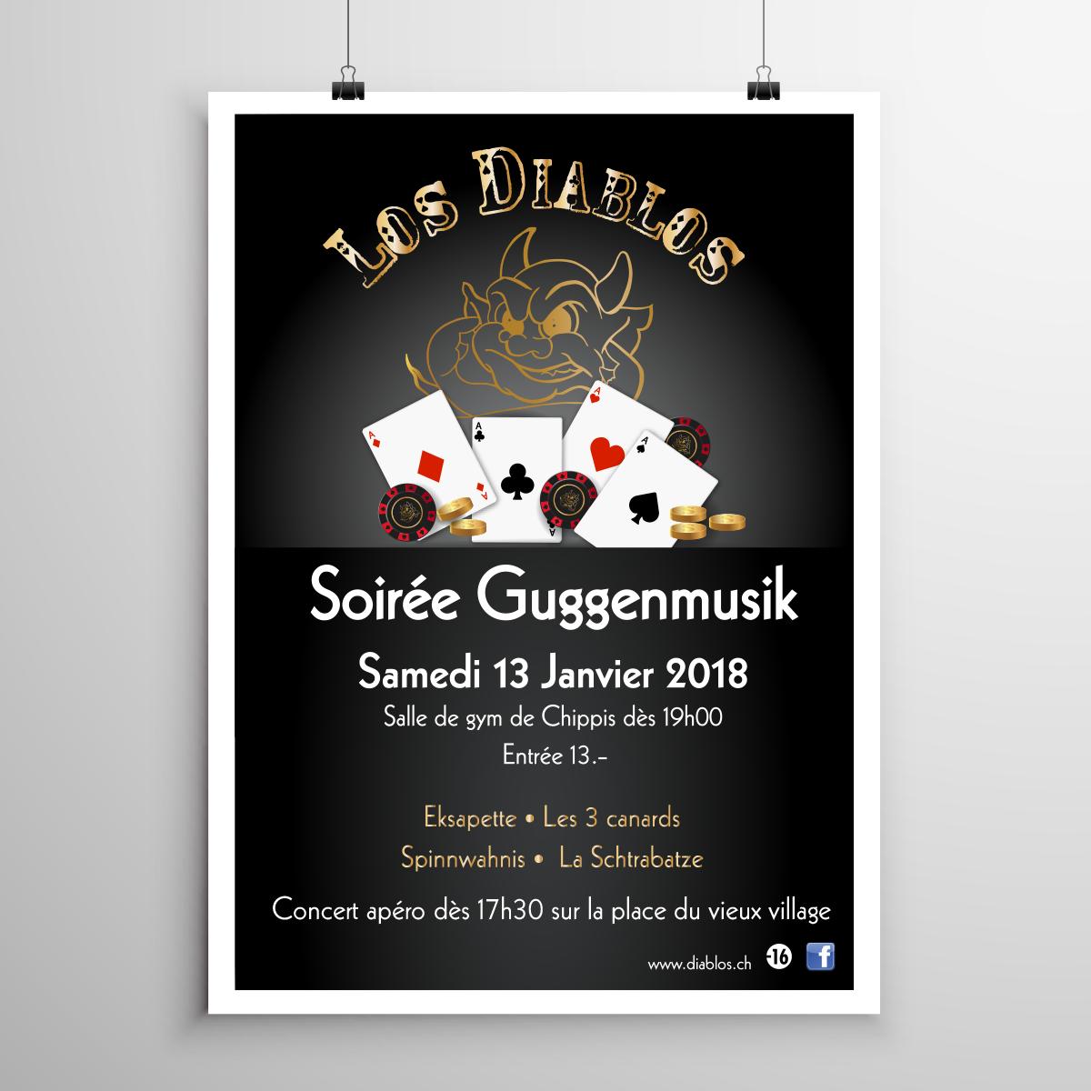 Soirée Guggenmusik