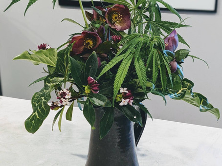 DIY Trendy Hemp Bouquets