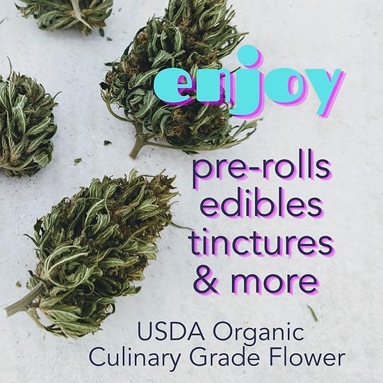 CBD Hemp Flower Culinary Grade