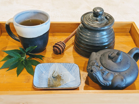 Green Tea, Meet Hemp Tea
