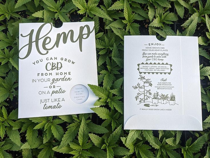 Hemp Seed Get Growing Package