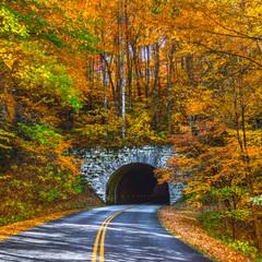 Blue Ridge Parkway Tunnel near Asheville