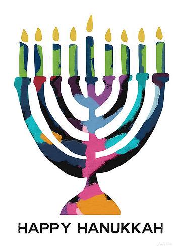 colorful-modern-menorah-art-by-linda-woo