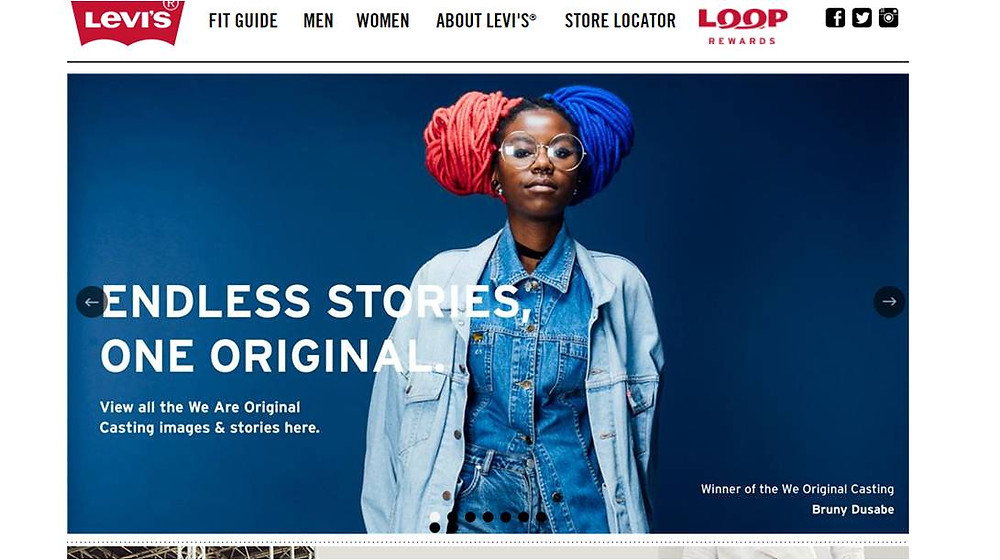 Levi's_South_Africa_ Local SEO 3 Pack_Organic_Media_Website Designer_SEO_Cape_Town