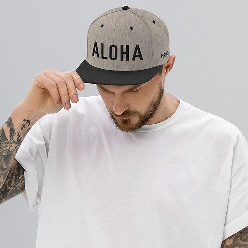 Snapback Hat / ALOHA