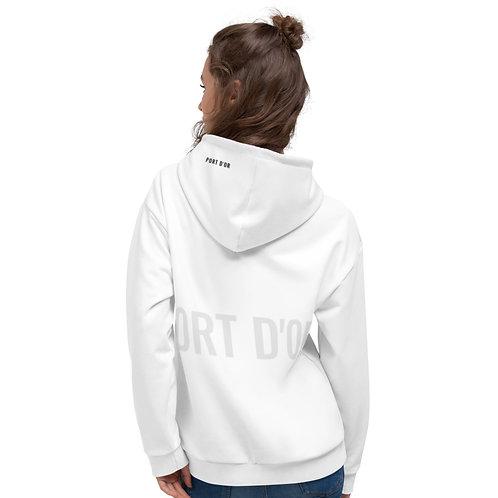 Unisex Logo Hoodie / white