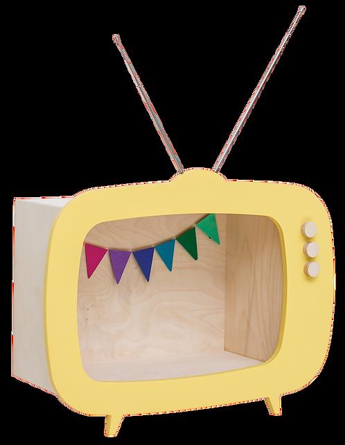 Up! Warsaw Etagère TV jaune