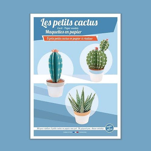 Sophie et Martin Maquettes en papier Les Petits Cactus