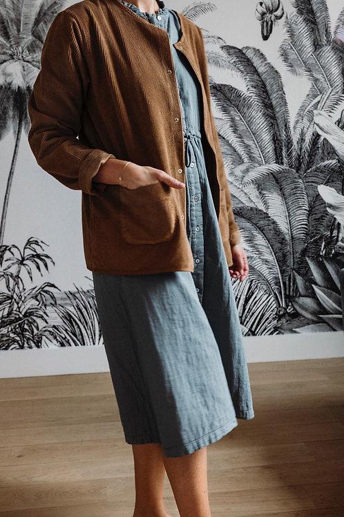 Robe longue 100% coton Bio Poudre Organic
