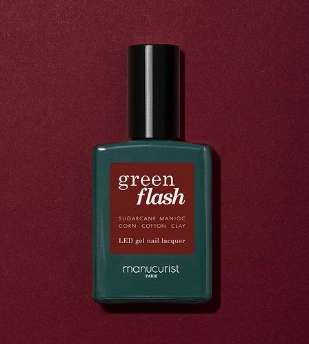 Vernis naturel Green Flash Manucurist - Dark Pansy