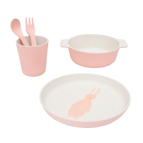 Set Vaisselle en bambou Miss Rabbit - Trixie