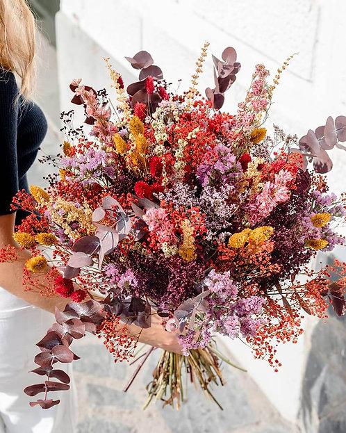 Gros Bouquet de fleurs séchées