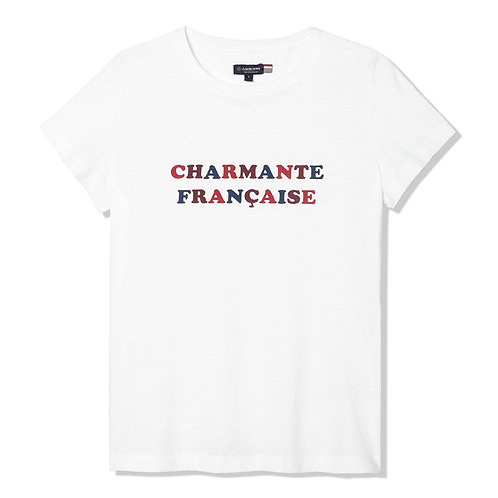"La Gentle Factory tee-shirt ""Charmante Française"""