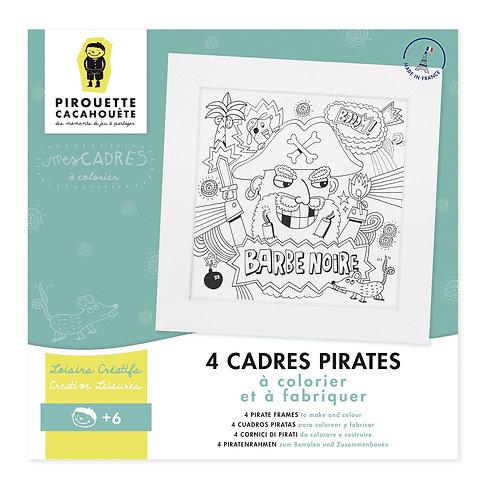 Pirouette Cacahouète Kit créatif Mes Cadres Pirates