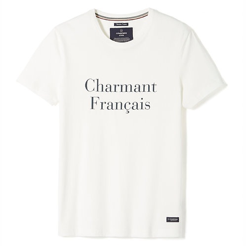 "La Gentle Factory tee-shirt ""Charmant Français"""