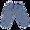 Thumbnail: Pantalon en denim clair Poudre Organic