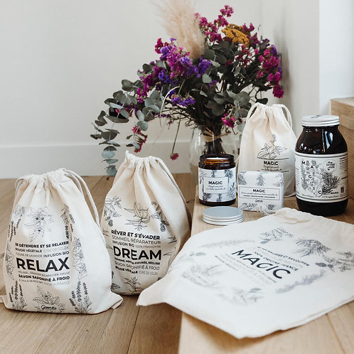 Pack GreenMa Mama Relax : Infusion + Savon + Bougie