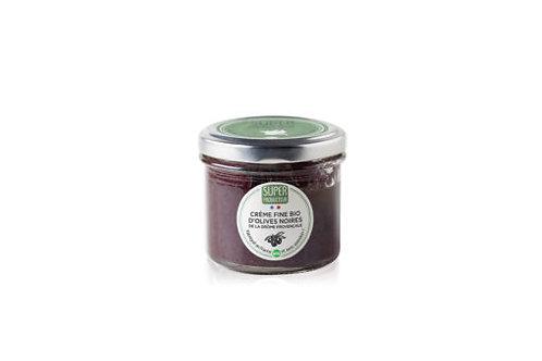 SuperProducteur Crème fine bio d'olives noires