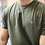 Thumbnail: La Gentle Factory tee-shirt brodé Vélo kaki