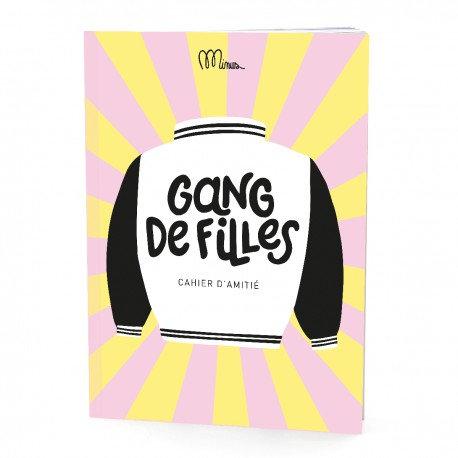 Gang de filles - cahier d'amitié Minus Editions