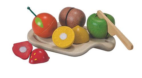 Fruits à découper Plan Toys