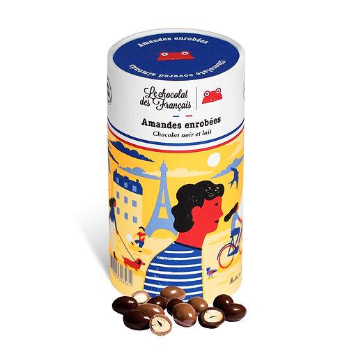 Le Chocolat des Français Amandes enrobées de chocolat