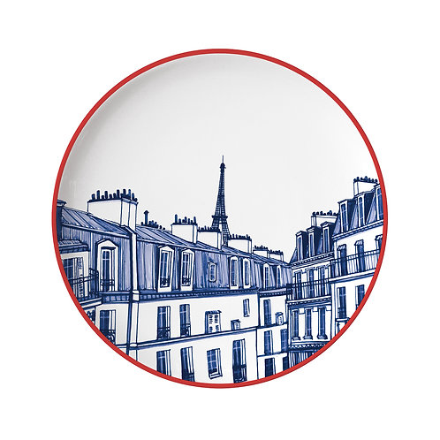 Faïencerie Georges Assiette Paris