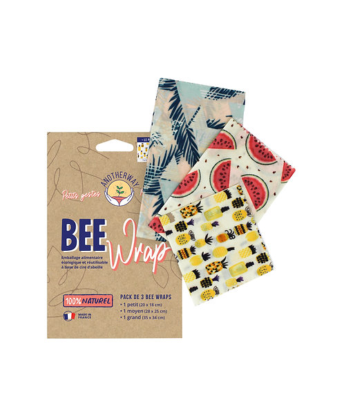 Emballage réutilisable BEE Wrap - design Original
