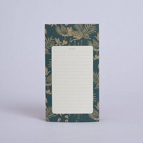 Bloc notes Jungle Emeraude Season Paper