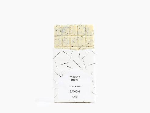 Tablette de savon naturel Ylang Ylang - Maison Mère