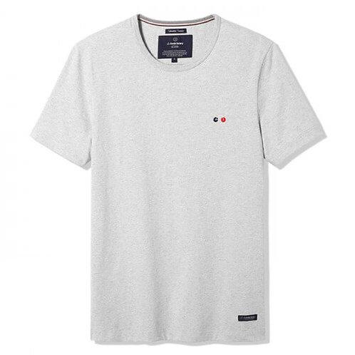 La Gentle Factory tee-shirt brodé Vélo gris
